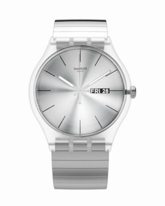 Reloj Swatch Unisex Resolution Suok700 Acero 3 Bar Talle B