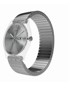 Reloj Swatch Unisex Resolution Suok700 Talle A Acero 3 Bar - comprar online