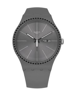 Reloj Swatch Unisex Essentials Grey Rails Suom709