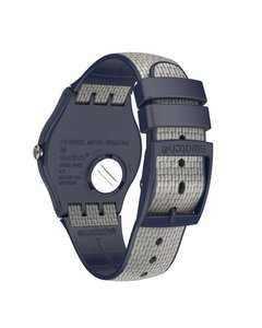 Reloj Swatch Unisex New Gent Lady Suon402 Grey Cord - Cool Time