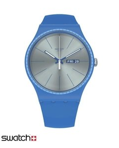 Reloj Swatch Hombre Essentials Suon714 Blue Rails