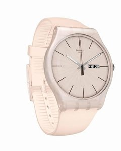 Reloj Swatch Mujer Rose Rebel Suot700 Silicona Sumergible - comprar online
