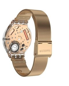 Reloj Swatch Mujer Skindesert Svok107m Acero Rose Sumergible - Cool Time