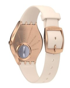 Reloj Swatch Mujer Skin Irony Syxg101 Skinrosee - Cool Time
