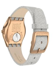 Reloj Swatch Mujer Holiday Collection Ylg145 Grey Sparkle - Cool Time