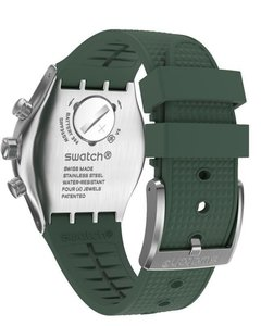 Reloj Swatch Hombre Chrono Irony Forest Grid Yvs462 - Cool Time