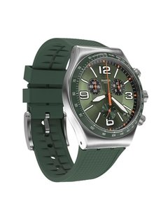 Reloj Swatch Hombre Chrono Irony Forest Grid Yvs462 - comprar online