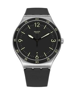 Reloj Swatch Hombre Yws454 Black Suit Big Classic