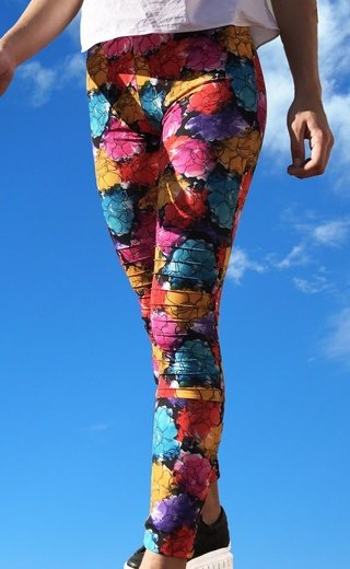 LEG ROCK FLOWER POWER - comprar online