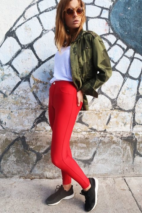 PANT JAGGER RED