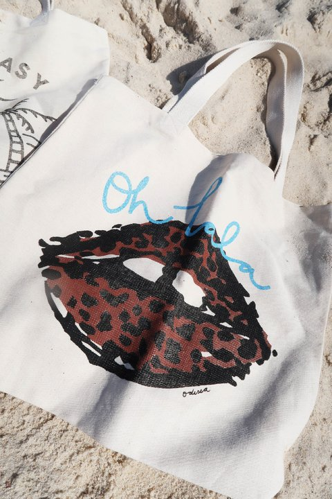 TOTE BAG MOUTH
