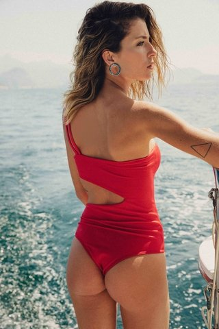 ENTERO BROOKE RED - Odisea Swimwear