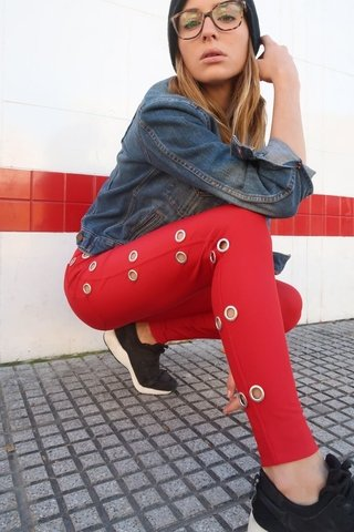 PANT KISS RED - comprar online