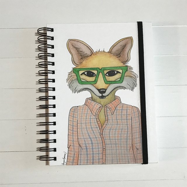 CUADERNO FÉLIX- Serie Hipster Animals