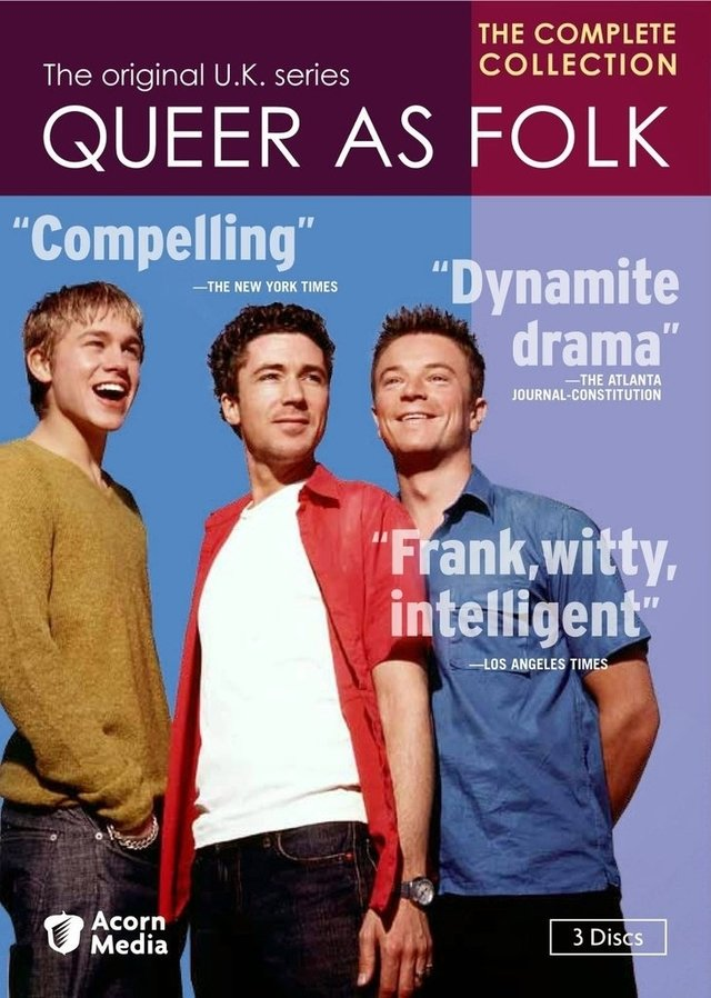 Os Assumidos - Temporadas 1 e 2 (Queer As Folk) UK - 4 discos