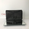 Bolsa Chevron All Black Jumbo