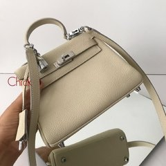 Imagem do Bolsa Kelly 28 Off White Italiana