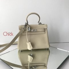 Bolsa Kelly 28 Off White Italiana