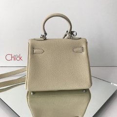 Bolsa Kelly 28 Off White Italiana - comprar online