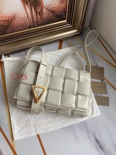 Bolsa Padded Italiana Off White