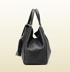Soho Shoulder Bag - Preta - Italiana na internet