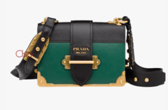Bolsa Cahier Shoulder Bag Verde - Italiana