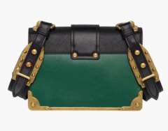 Bolsa Cahier Shoulder Bag Verde - Italiana na internet