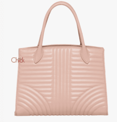 Bolsa Diagramme Leather Rosé - Italiana - comprar online
