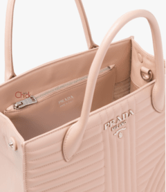 Bolsa Diagramme Leather Rosé - Italiana na internet