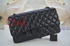 Bolsa Classic Flap All Black - Italiana
