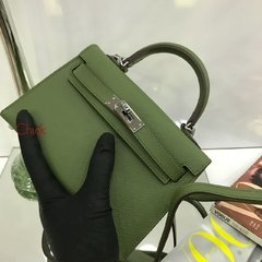 Imagem do Bolsa Kelly Mini 20 Verde Italiana