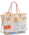 BOLSA NEVERFULL MM DAMIER AZUR - ITALIANA
