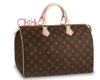 BOLSA SPEEDY MONOGRAM CANVAS - Francesa