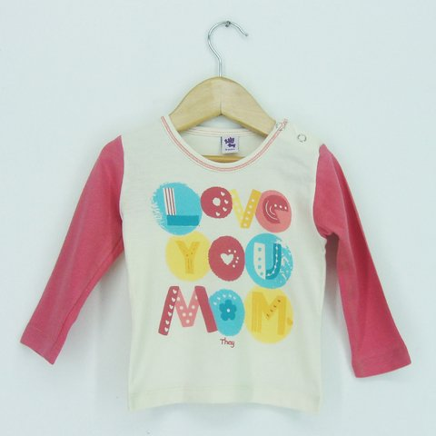 Remera Baby nena Love Mon en internet