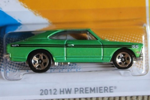 Hot Wheels Chevrolet Opala Ss 2012 Hw Premiere