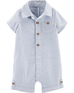 Romper Carter's - Organic Cotton Striped Romper - comprar online