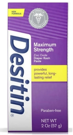 Desitin Maximum Strength (ROXA) - Bisnaga 57g