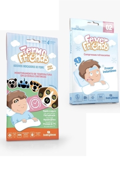 Kit Febre Babydeas - 01 Termo Friends e 01 Fever Friends - BABY IMPORTAÇÃO