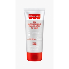 Gel 70 Antimicrobiano Hipoalergênico para as Mãos - Fisher Price 52g