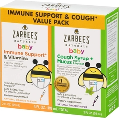 Kit Zarbees Baby Immune Support + Xarope Infantil