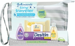 Kit de Viagem Baby Johnsons Tiny Traveler USA