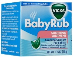 Vicks BabyRub Soothing - 50g