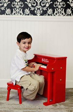 Piano para niños 25 teclas Schoenhut Traditional Spinet Piano 25-Key Red - comprar online