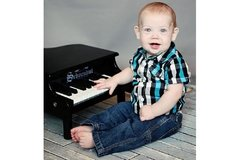 Piano para niños 18 teclas Schoenhut Mini Grand Piano 18-Key Black - comprar online