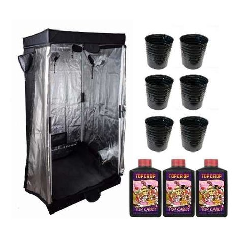 Carpa Indoor M Maceta Master Pack 1l 12 Cuotas Cyber Monday