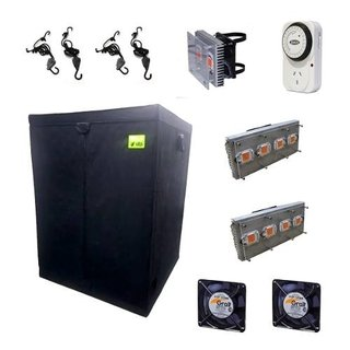 Kit Carpa Cultivo Indoor Super-led Turbina Completo Xxl