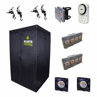 Kit Carpa Indoor Mega-led Completo Xl Promo Primavera 12c