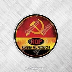Adesivo Russian Oil Products
