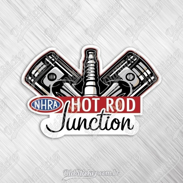 Adesivo Hot Rod Junction