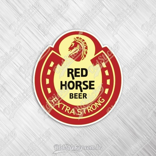 Adesivo Red Horse